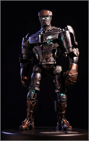 3d Printing Helps Create The Movie Real Steel The