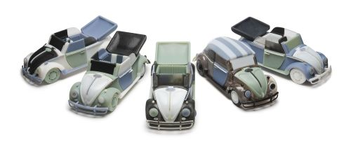 3D Printed Classic Cars in Multiple Materials