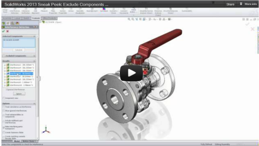SolidWorks 2013 Sneak Peak Video