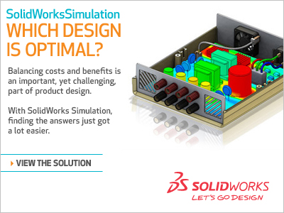 SolidWorks Simulation Challenge 3D CAD Software